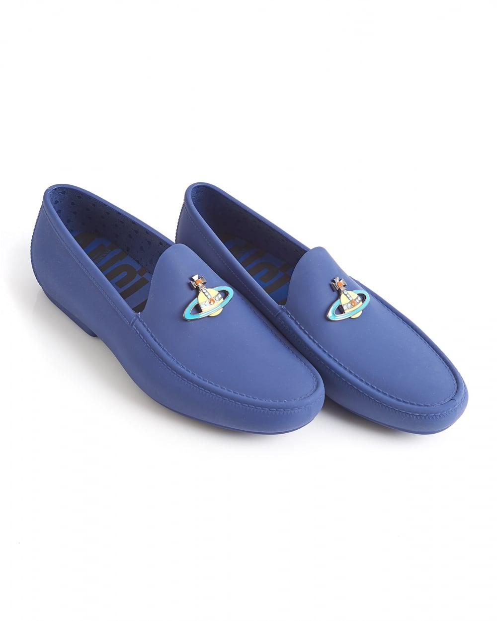 Mens Versace Shoes Blue