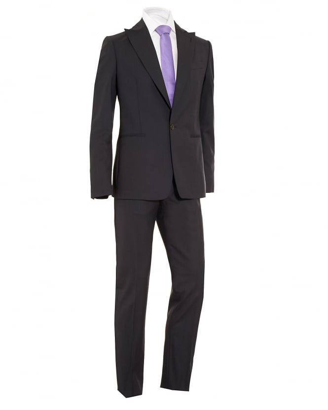 Vivienne Westwood Man Mens Suit, James Slim Fit New Wool Charcoal Grey Suit