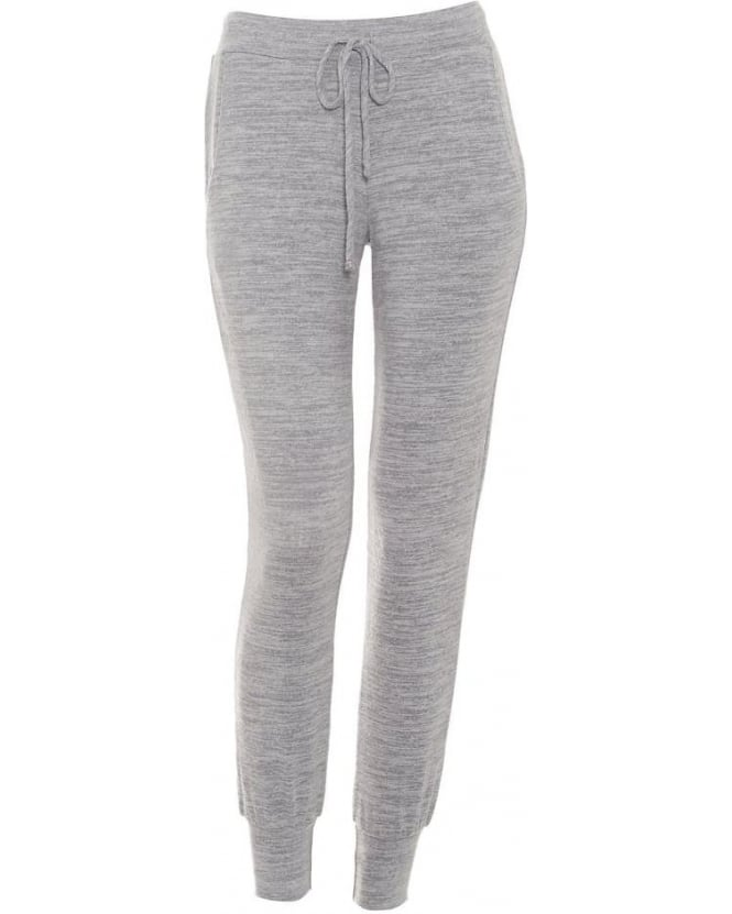 Velvet by Graham & Spencer Womens Joggers Fabiola Heather Grey Trackpant