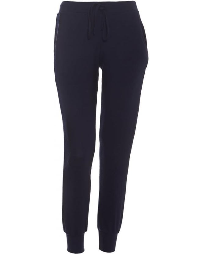 Velvet by Graham & Spencer Womens Joggers Fabiola Navy Blue Trackpant