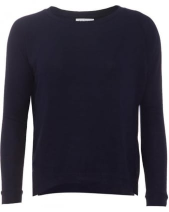 Womens Jumper Robina 03 Navy Jersey Top