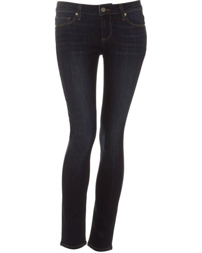 Paige Jeans Womens Skyline Ankle Peg Jean, Super Rebellious Skinny Dark Denim