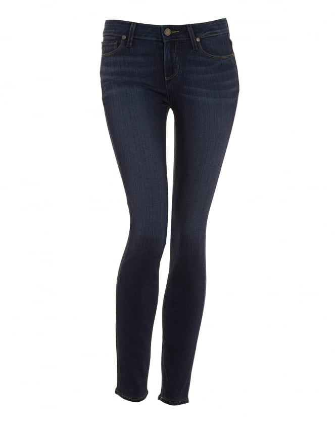 Paige Jeans Womens Verdugo Ankle Jean, Nottingham Mid Wash Ultra Skinny Transcend Denim