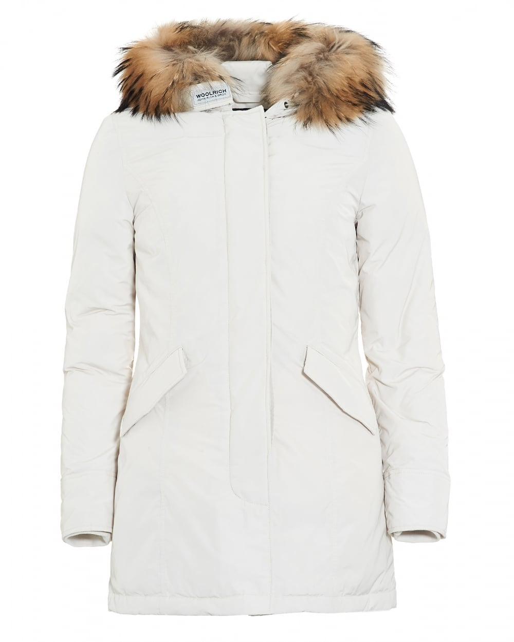 White Parka Coat