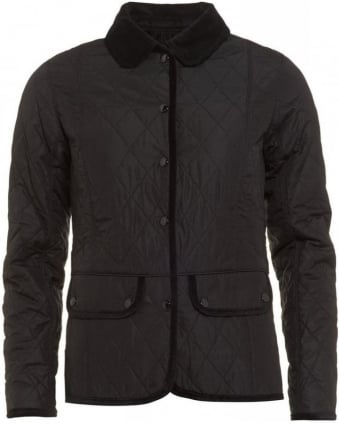 X Range Rover Black Terrain Quilted Jacket
