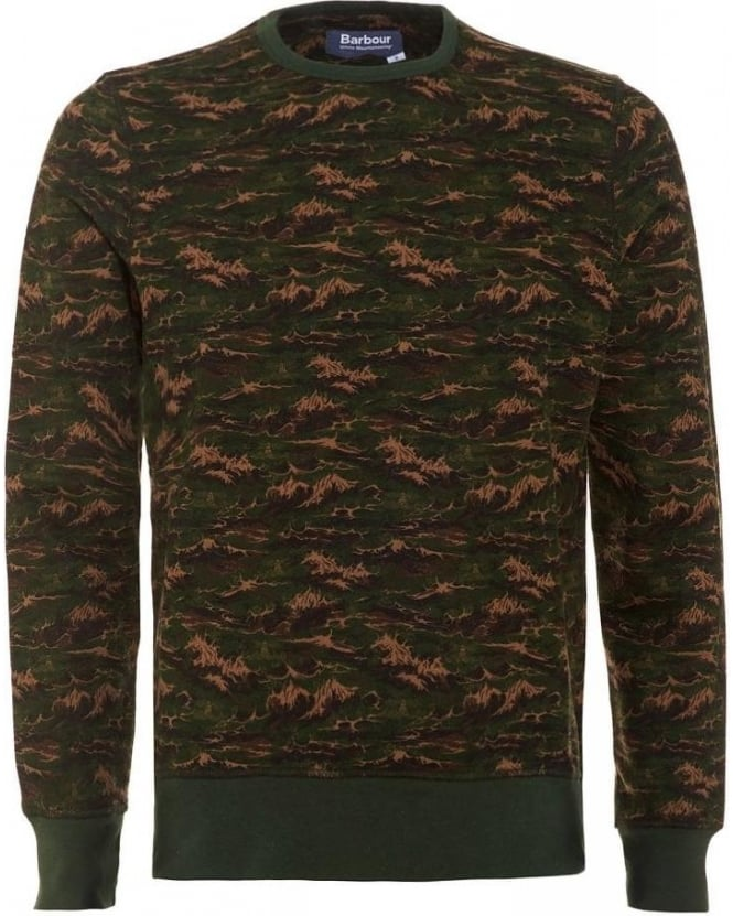 Barbour X White Mountaineering Blenyama Olive Sweater
