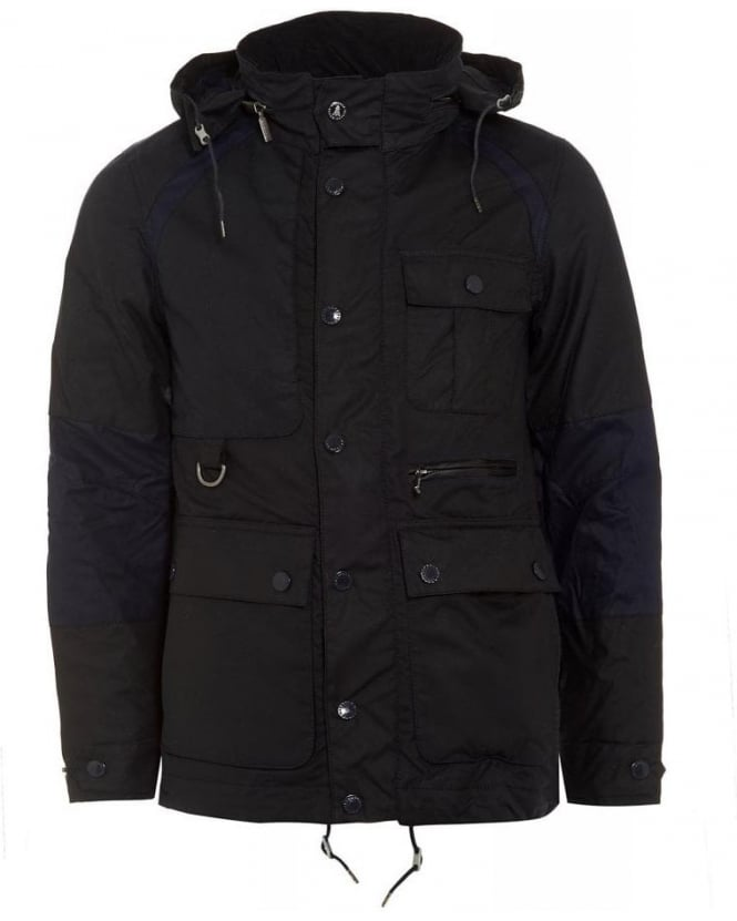 Barbour X White Mountaineering Cragmoto Navy Wax Jacket