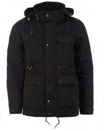 X White Mountaineering Cragmoto Navy Wax Jacket