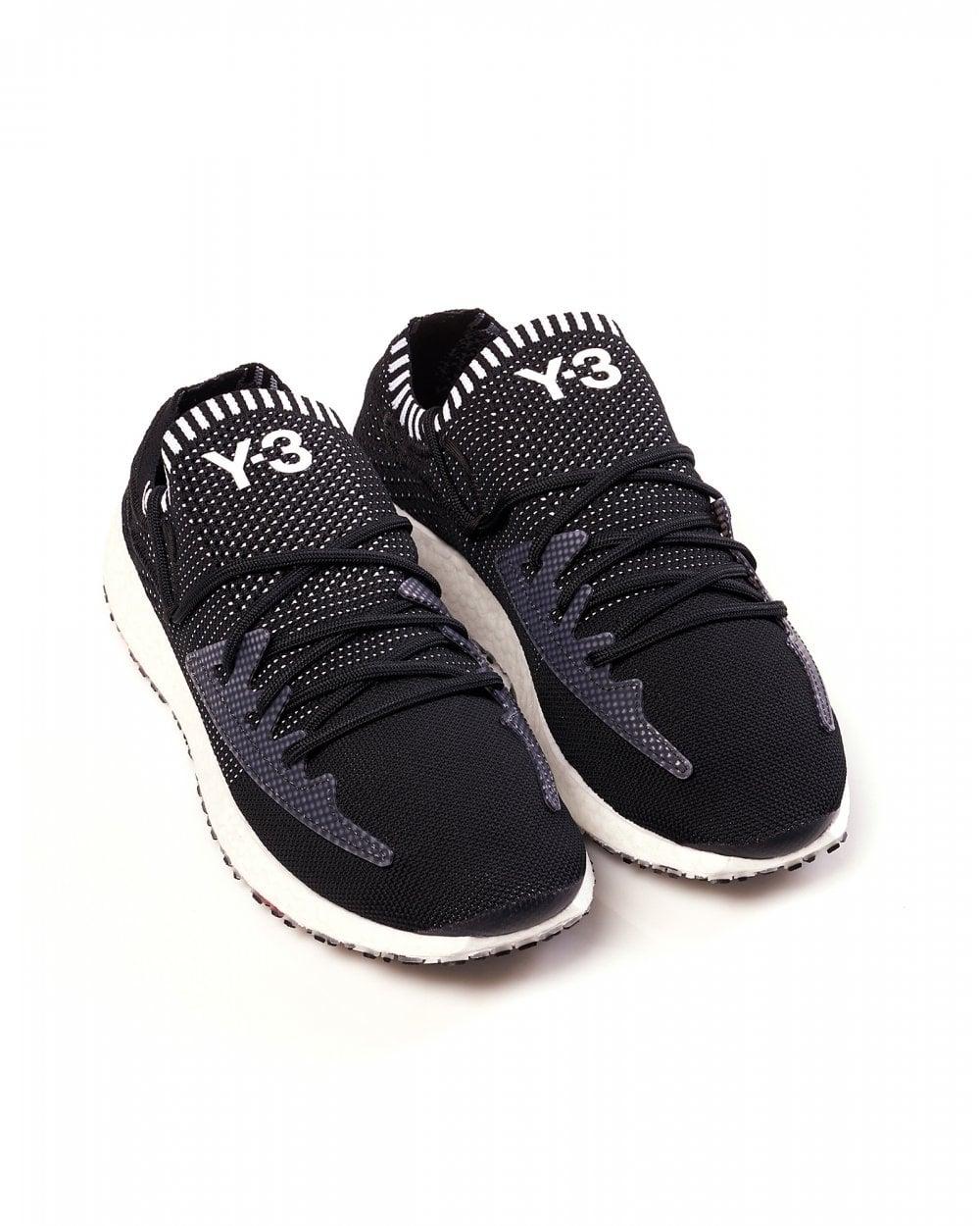 e79d8b5d28a31 Y-3 Mens Black Sneakers