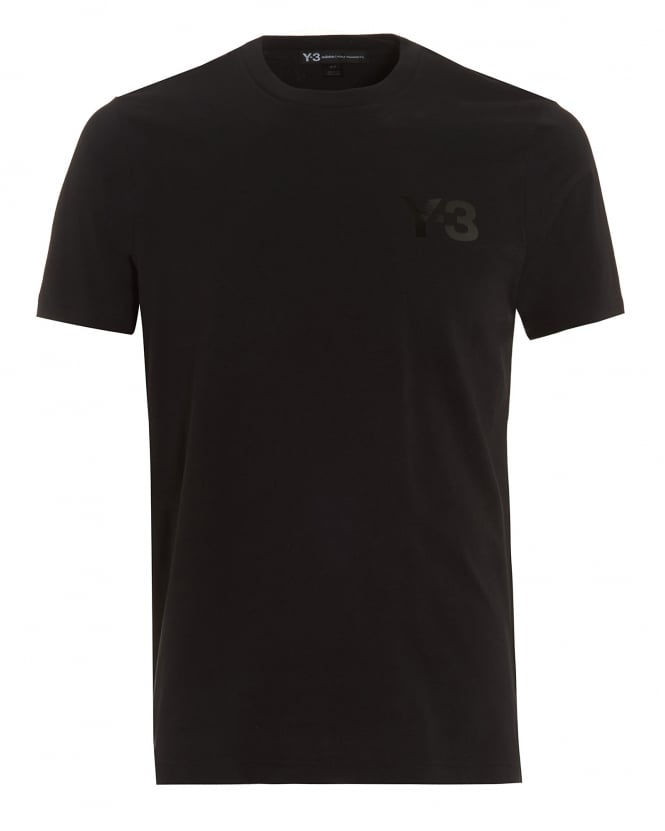 Y-3 Mens Chest Logo T-Shirt ec69c2c4fc9