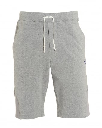 Mens Future Craft Short, Grey Gym Sweat Shorts