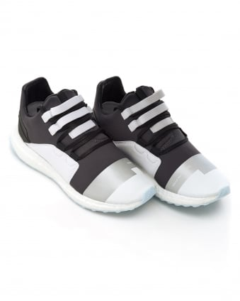 Mens Kozoko Trainers, Steel Grey Low Boost Sneakers