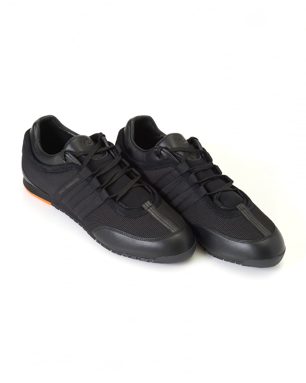 a6dd4fe2fe1 Y-3 Mens Low Top Trainers