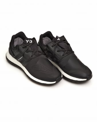Mens Pure Boost ZG Core Black Neoprene Trainers