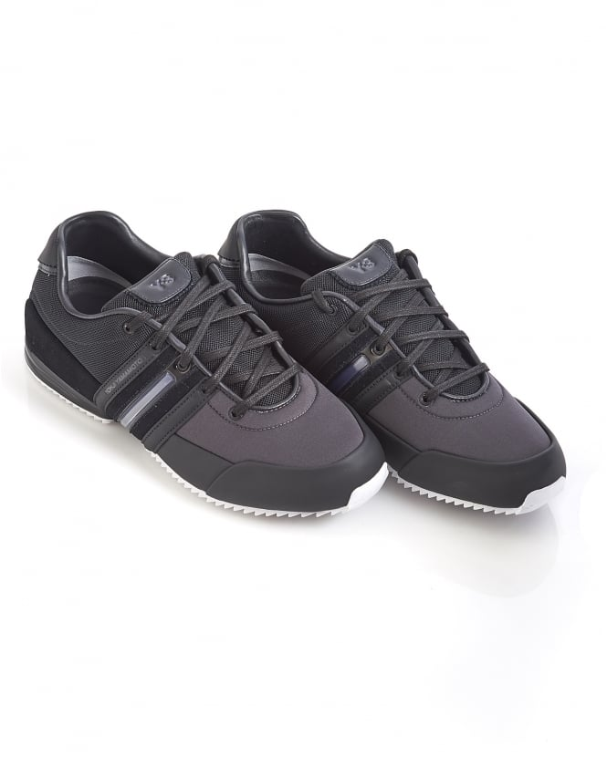 4448522dc134c 01753895395 13920 S82114 SL98BQ 494006939. y 3 mens sprint trainers black  leather sneakers