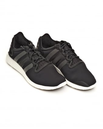 Mens Yohji Run Neoprene Core Black Trainers