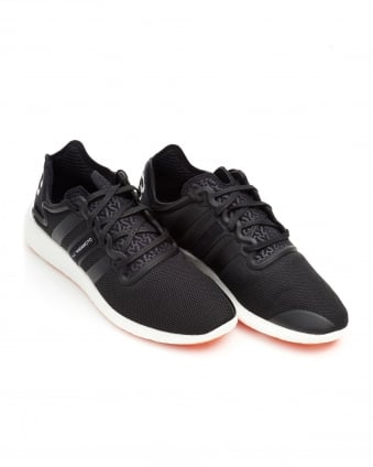 Mens Yohji Run Trainers, Mesh All Black Sneakers