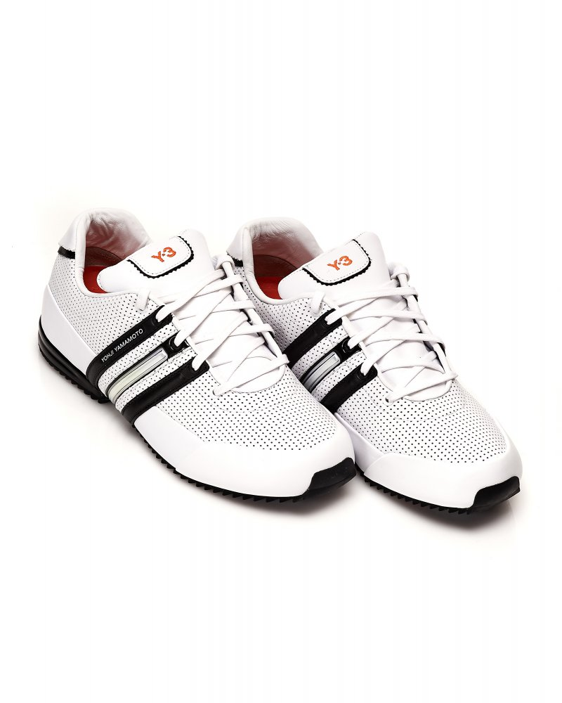 Y-3 Trainers White Sprint Classic 2 Leather Trainer 8a5b93b4d
